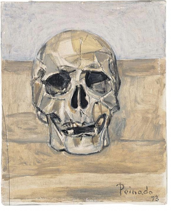Skull Painting for art wall